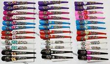 2 Clip per Capelli Donna Nuovo Artiglio Glitter Gem Shiny Pinza GRIP A FARFALLA/PESCE clutcher,