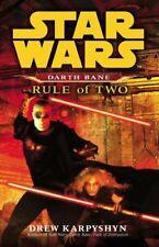 Star Wars: Darth Bane - Rule of Two by Karpyshyn, Drew Paperback Book The Cheap