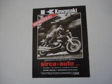 advertising Pubblicità 1975 KAWASAKI 400 MACH II S3-J
