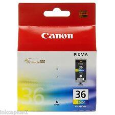 Canon CLI-36, CLI36 Color Original OEM PIXMA Cartucho De Tinta