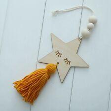 Perline In Legno Stile Nordico Nappa Appeso A Parete Ornamenti Kid Camera