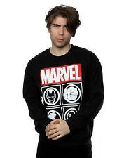 Marvel Men's Avengers Icons Sweatshirt