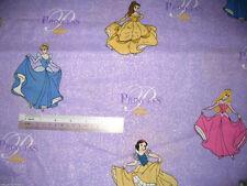 *Choose* Disney Princess Princesses already cut pieces Cotton Quilting Fabric