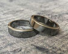 Hematite Ring.Buy 2+1free.Unusual silver-black.Men.Women 6mm All size 5678910112