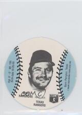 1977 MSA Discs Burger Chef #MIHA Mike Hargrove Texas Rangers Baseball Card