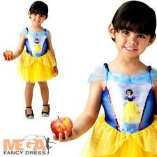 Ballerina Snow White Girls Fancy Dress Disney Princess Childs Fairytale Costume