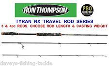 RON THOMPSON TYRAN NX NANO CARBON TRAVEL ROD SEA COARSE FISHING BASS PIKE TROUT