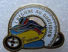 Pin's MOTO L'Hygiéne au quotidien FRANGAMA roue #2084