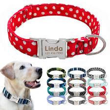 Collari Per Cani in Nylon Personalizzati Nome personalizzato Pet Nome Telefono
