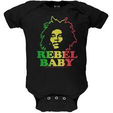 Bob Marley - Rebel Baby Newborn Infant One Piece
