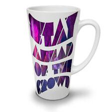 Geometric Unique Wellcoda NEW White Tea Coffee Latte Mug 12 17 oz   Wellcoda
