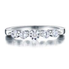 Beautiful NSCD Simulated 0.5 Carat Diamond Ring Engagement Wedding
