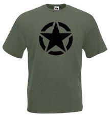 T-Shirt Military J580 United States Army Esercito degli Stati Uniti d'America