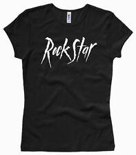 Rock Star Rockstar - Damenshirt / Girl / Woman, Gr. XS bis XL