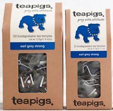 Earl Grey Strong Tea Bags - Tea Pigs - Biodegradable Tea Temples - 15/50