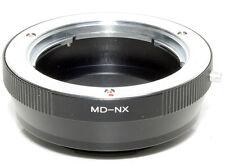 Anello adapter per ottiche Minolta MD su corpi Samsung NX (NX5-NX10-NX100 ecc.)