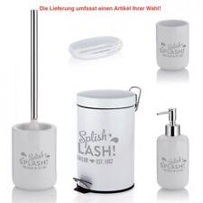 TOM TAILOR Badserie Soho Splish Splash Seifenspender WC-Garnitur Badartikel Bad