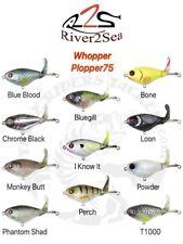 River2Sea Whopper Plopper 75 Topwater Bait - Choose Color
