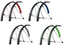 """SKS Stingray Set de guardabarros delantero + Trasera 28"""" 45mm rojo,gris,verde o"""