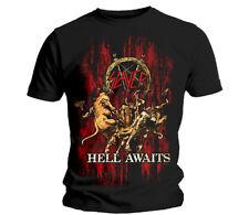Slayer infierno espera T-Shirt (S a XXL) Nuevo Oficial reinan en sangre Ángel de la muerte