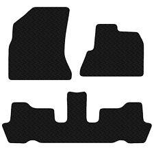 Citroen C4 Picasso 2007 - 2013 Black Floor Rubber Tailored Car Mat 3mm 4pc Set