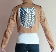 Attack on Titan Shingeki no Kyojin Scouting Legion Cosplay Coat Jacket Eren Jage