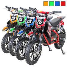 Kinder Mini Enduro Crossbike Gepard Elektro 500 Watt Motorcrossbike Pocketbike