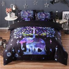Purple Elephant New Single/Double/Queen/King Bed Quilt/Doona/Duvet Cover Set