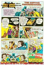 Hostess Fruit Pies: Batman & The Captive Commissioner Gordon w/ Robin: Print Ad!