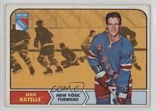 1968-69 O-Pee-Chee #77 Jean Ratelle New York Rangers Hockey Card