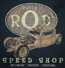 T-shirt #623 Ratty Rods Old School Hotrod Dragster PIN UP v8 Rockabilly