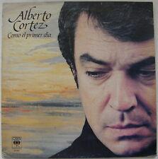 Alberto Cortez Como El Primer Dia CBS 1983 MINT