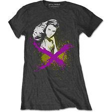 Ladies Justin Bieber X Rock Purpose Licensed Tee T-Shirt Womens