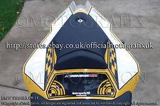 BMW S1000RR 09 10 11 Rear Seat Unit Number Board Motografix 3D Gel Protector
