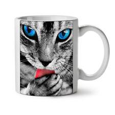 Cute Kitty Paw Cat NEW White Tea Coffee Mug 11 oz   Wellcoda