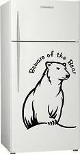 Present, Gift 2, Bundy Bear Fridge, Bar, Rum Sticker Decal, 580 x 400mm