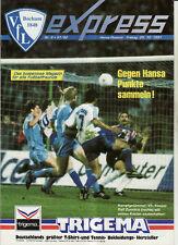 BL 91/92 VfL Bochum - FC Hansa Rostock