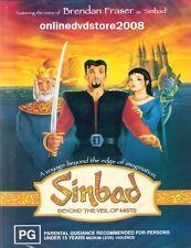 SINBAD - BEYOND The VEIL Of MISTS (Brendan Fraser) ANIMATION Film DVD NEW SEALED