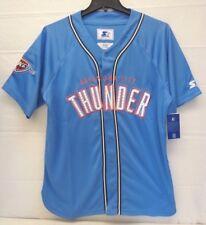 Oklahoma City Thunder Men's Starter Legacy Baseball Style Jersey Shirt 266