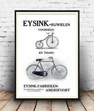 Eysink, Vintage ciclo Publicidad reproducción Poster, Arte De Pared.