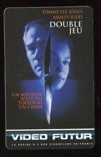VIDEO FUTUR carte collector  DOUBLE JEUX  (139)