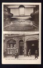 LONDON Bishopsgate Devonshire House Quakers RP PPC