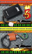 AMR Racing CDI Rev Box + Performance Monster Coil Combo Kawasaki KLX110 STAGE 3