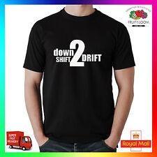 Deriva hacia abajo Shift 2 T-Shirt-Heavy Fruit of the Loom-Diff coche JAP Euro RWD JDM