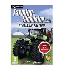 Farming Simulator 2011 The Platinum Edit DVD NEW And Sealed