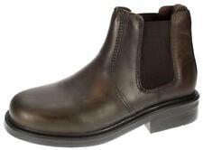 oaktrak Walton marron chocolat bottes chelsea à enfiler cuir garçon