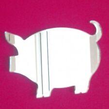 Cerdo Espejo acrílico (varios tamaños)