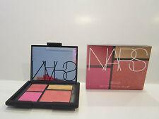 NIB!! NARS Foreplay #9968 Orgasm, Pink & Peach Matte & Gold Highlighting Blushes