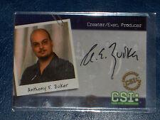 LES EXPERTS CSI AUTO/AUTOGRAPH CARD ANTHONY E. ZUIKER CSI-B11