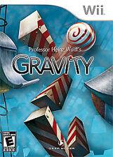 Professor Heinz Wolff's Gravity  --  Nintendo Wii Game w/ Case  ***Guaranteed***